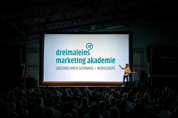 """dreimaleins marketing akademie - Workshop """"START ONLINE"""""""