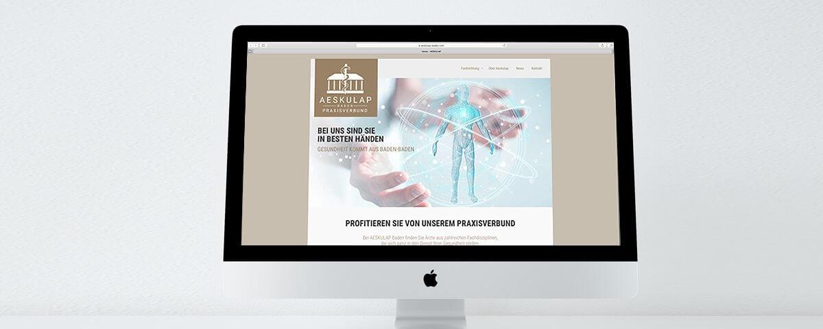 Aeskulap website