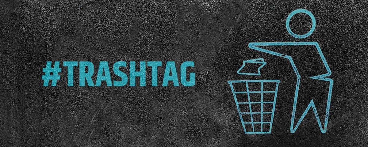 Nachhaltigkeit im Büro - mit dem #trashtag räumen Firmen und Gruppen auf und präsentieren Ihre Ergebnisse im Internet.