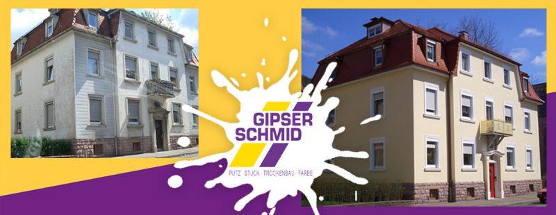Vorher Nachher Vergleich von Gipser Schmid