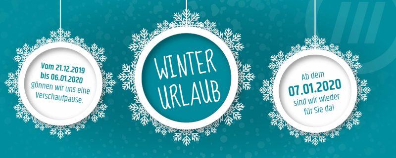 Winterurlaub vom 21.12.2019 bis zum 06.01.2020