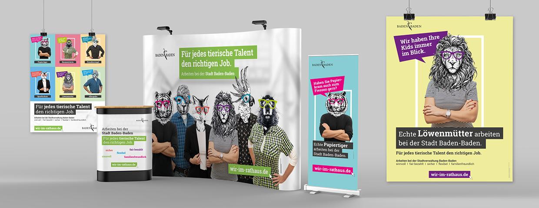 Arbeitgeberkampagne der Stadt Baden-Baden