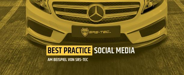 Best Practice Social Media SRS-Tec